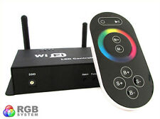 WiFi Single Point Controller Centralina RGB Led Telecomando Touch Wireless Inter