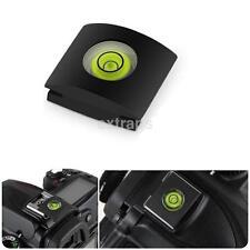 Flash Hot Shoe Protector Cover Cap Bubble Spirit Level For DSLR Canon Camera CA
