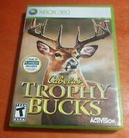 Cabela's Trophy Bucks Microsoft Xbox 360 Activision  Fun Labs  Cabela's  Dolby