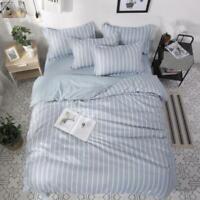 3D Gray White Vertical Stripes KEP8668 Bed Pillowcases Quilt Duvet Cover Kay