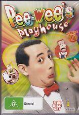 PEE WEE'S PLAYHOUSE - VOLUME 1 - 5 DISC SET - 23 EPISODES -