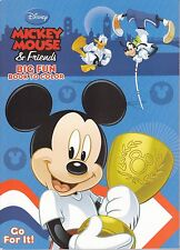 Disney Mickey Mouse Coloring Book ~ Go For It! - FREE SHIPPING