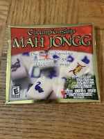 Championship Mahjongg Computer Game