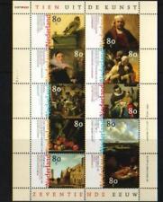 Nederland 1999 vel 17e eeuwse  Schilderkunst 1826-1835