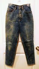 "Vintage Pepe Jeans London Dark Acid Washed Skinny Size 9/10 - 25"" waist"