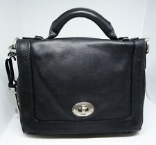 FOSSIL Black Leather Marlow Flap Top Handle Shoulder Hand Bag Handbag BNWT £149