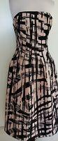 BARDOT Pink/Black Dress Size 8