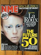 NME 8/8/09 La Roux cover, Animal Collective, The XX, Little Boots