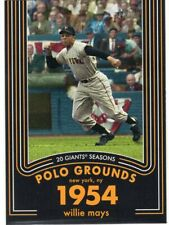 2020 Topps Heritage 20 Gigantic Seasons #6 Willie Mays - Giants