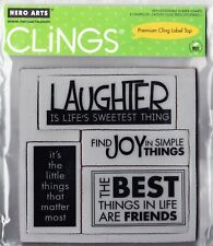 THINGS- Hero Arts - Cling Mounted Rubber Stamp Set