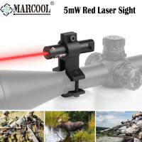 Mini Red Laser Sight with Adjustable Barrel Rifle Scop Mount For Hunting Optical