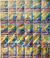 10 Stück Pokemon GX Karten RAINBOW Karten !!Keine Doppelten Brandneu!!