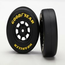 Traxxas 7378 Mounted Doodyear Wrangler Tires/Wheels (2) 1/16 Mustang / Rally