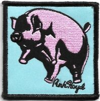 Official Licensed Merch Woven Iron-on PATCH Rock PINK FLOYD Animals Pig