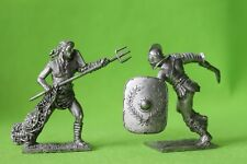 Tin toy gladiators figures soldiers #3q 54 mm exclusive collection figures