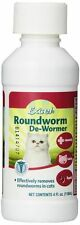 Excel Roundworm De-Wormer Liquid for Cats 4oz(Free Shipping in USA)