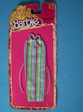 1978 BEST BUY FASHIONS 4 BARBIE  DOLL Multi Stripe Dress  NEW NRFP