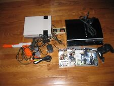 Lot of [2] Video Game Consoles Sony Playstation 3 409B-CBEH1000 + NES see notes