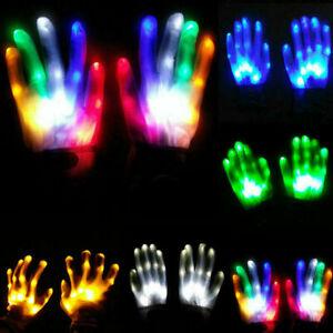 Led Gloves Light Up Kids Toys For Age 5 6 7 8 9 10 Year Children Girls Boys HOT