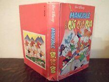 Manuale di Qui Quo Qua - Walt Disney - Mondadori - Italien - Très bon état  1979