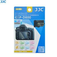 New JJC GSP-D800 Tempered Glass Screen Protector 9H Hardness For Nikon D800