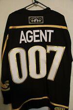 James Bond Agent 007 Geeky Jerseys hockey jersey-Large