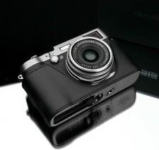 Gariz XS-CHX100MABK2 Leather Half Case for Fuji Fujifilm X100, X100s, x100t