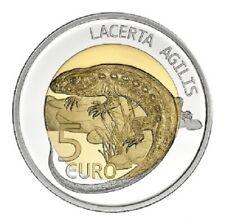 5 Euros Commémorative Argent Luxembourg 2021 Lézard !
