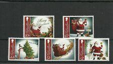 GIBRALTAR SG1483-1487 CHRISTMAS 2012  SET MNH