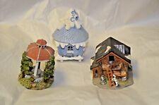 christmas figures gazebo 3 assorted pieces for 1 money no lights
