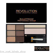 Makeup Revolution Ultra Brow Palette Fair to Medium Eyebrow Enhancing Kit