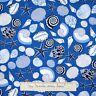 Nautical Fabric - Cabana Starfish Seashell Blue - Benartex Kanvas Studio YARD