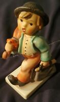 "Hummel Goebel MERRY WANDERER Figurine #11/0 TMK-5 6.25"" No Original Box"