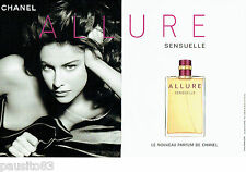 PUBLICITE ADVERTISING  046  2006  Chanel   parfum Allure Sensuelle  (2p)