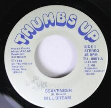 Hear! Power Pop Nevada Reno Nm! 45 Bill Bream - Scavenger / Lot On The Ball On T