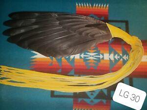 Native American Style Wing Fan, Pow Wow, Regalia, LG 30
