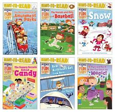 NEW Science of Fun Stuff Set of 6 Ready to Read Level Three Beginning Reading