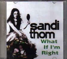 Sandi Thom-What If Im Right Promo cd single