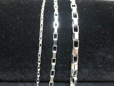 STAINLESS STEEL SILVER 2/4/5 MM LONG OPEN BOX FROM 7