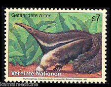 UN MNH, Endangered Wild Animals, Ant Eater, Ant Baer - Wa 07