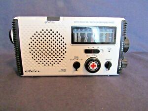 Eton AM/FM Short Wave Emergency American Red Cross Radio FR-350