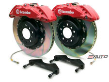 Brembo Front GT Brake BBK 6pot Red 380x34 Slot Escalade Chevy GMC 1500 07-14