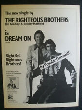 The Righteous Brothers 1974 Ad- Dream On