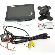 7 inch colour rear view monitor with touch panel menu
