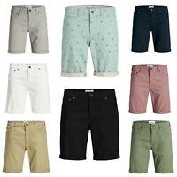 Jack & Jones Mens Chinos Regular Fit Shorts Casual Smart Summer Half Pants S-XXL