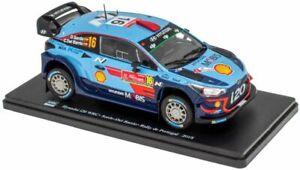 HYUNDAI i20 WRC Sordo Del Barrio Rally Portugal 2018 model car 1:24 MAG CAR NC01