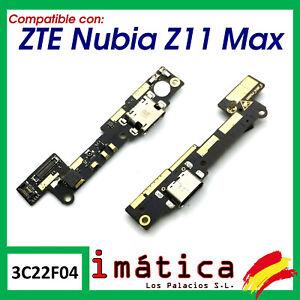 FLEX DE CARGA PARA ZTE NUBIA Z11 MAX PLACA MICRO USB MICROFONO CONECTOR BLADE