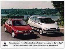 Renault Megane and Espace EuroNCAP Press Release Photo