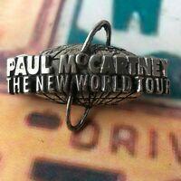 Paul McCartney The New World Tour Collectible pin 1993 USA Beatles