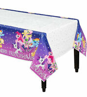 "NEW My Little Pony Birthday Plastic Table Cover 54"" x 96"" Party Supplies~"